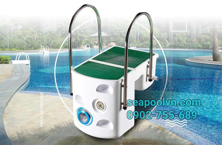 Báo giá thiết bị máy lọc hồ bơi không đường ống