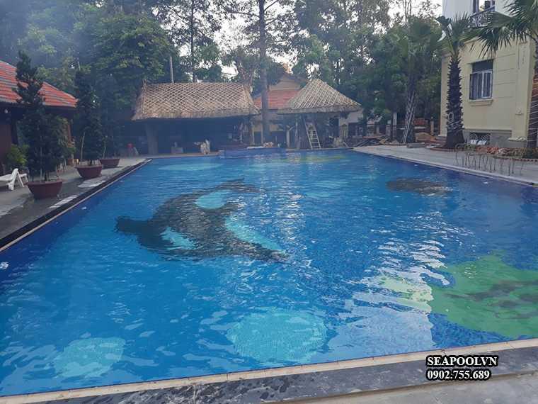 Bể Bơi Diện Tích Lớn Có Chi Phí Xây Cao Hơn