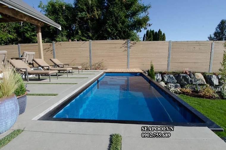 Bể bơi thông minh sự lựa chọn hợp lý tiết kiệm chi phí vận hành