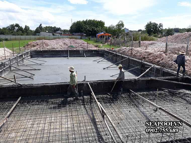 Đơn giá nhân công xây dựng bể bơi năm 2020