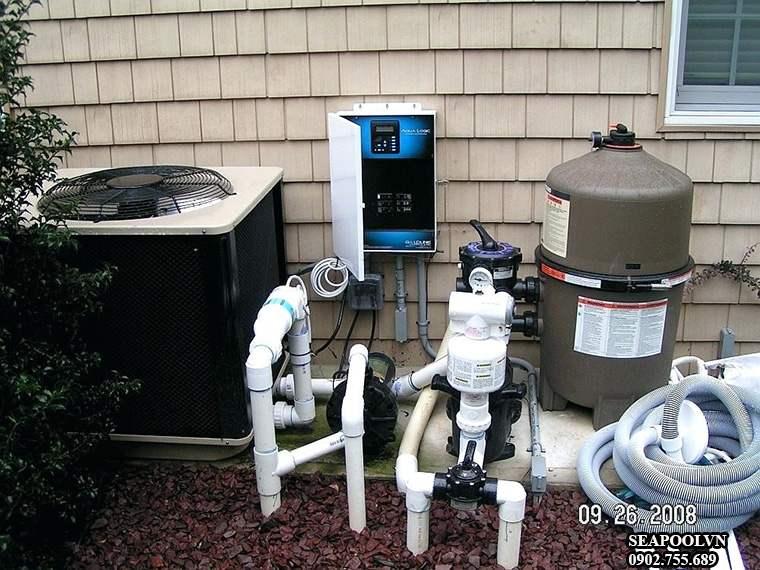 Dự toán giá kinh phí lắp đặt Hệ thống máy lọc nước bể bơi