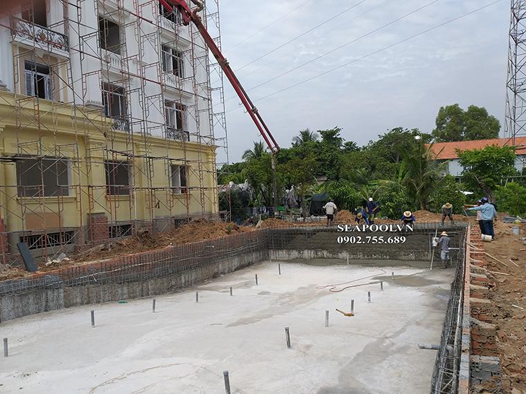Thiết kế xây dựng hồ bơi cho khách sạn