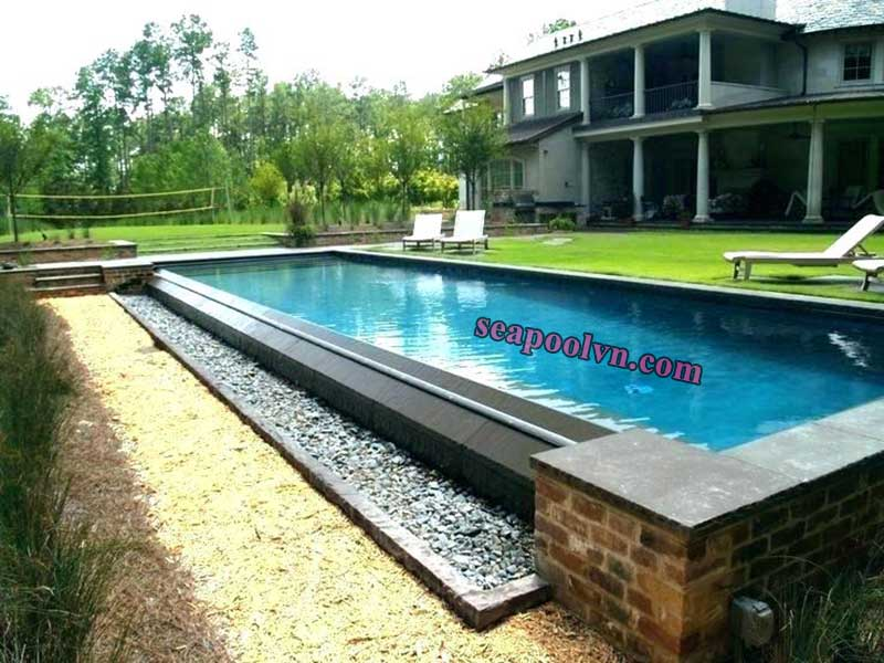 Giới thiệu khái niệm bể bơi tràn vô cực