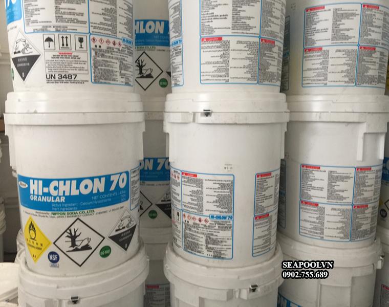Hóa chất bể bơi chlorine