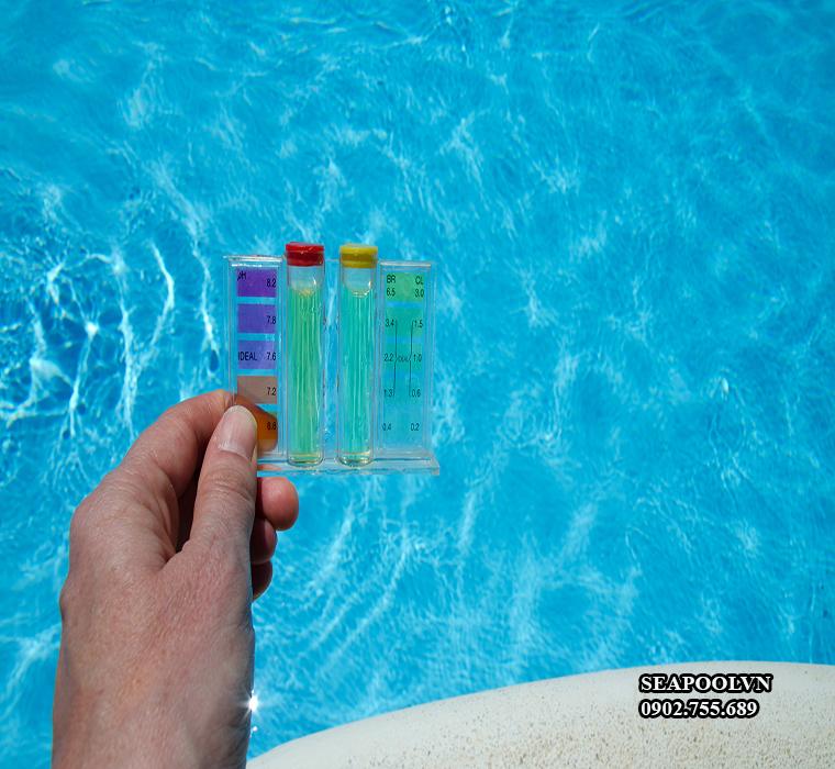 Hóa chất clo bể bơi