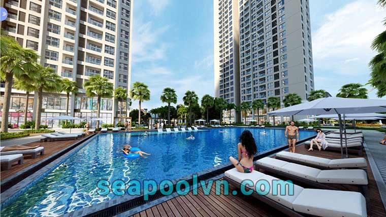 Lựa chọn thiết kế hồ bơi phù hợp diện tích khuôn viên xung quanh
