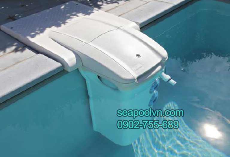 Máy lọc nước bể bơi thông minh không đường ống