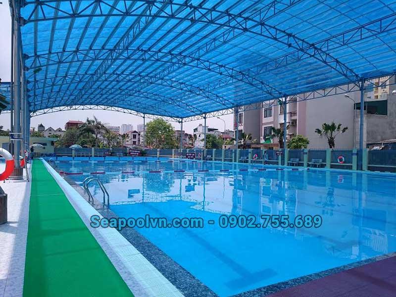 Nguyên tắc thiết kế hồ bơi phụ thuộc vào vị trí và diện tích
