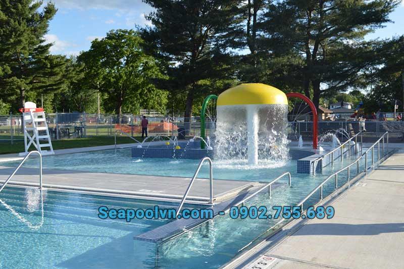Nhu cầu sử dụng hồ bơi hiện nay rất lớn