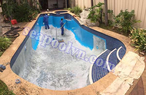 Sửa chữa bể bơi chuyên nghiệp