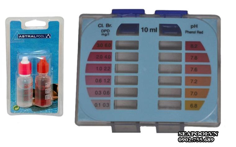 Test kit nước hồ bơi
