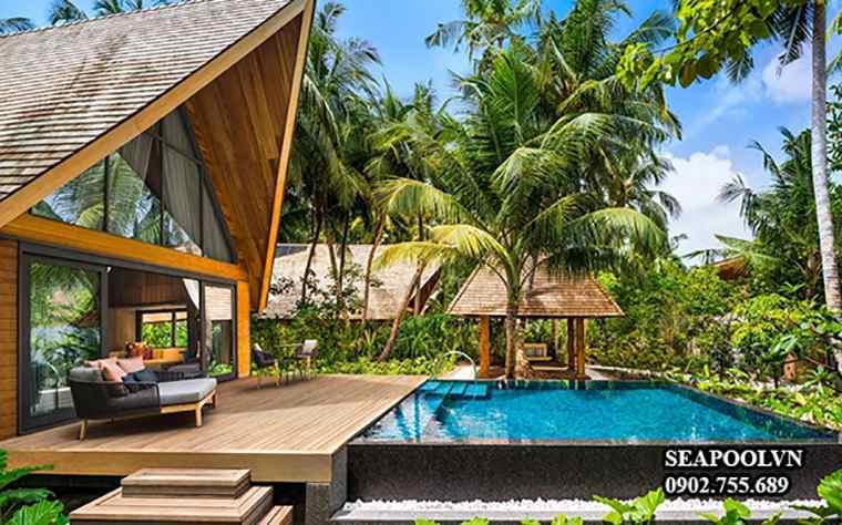 Thiết Kế Bể Bơi Cho Biệt Thự