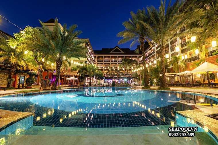 Thiết Kế Bể Bơi Cho Khu Resort Khách Sạn