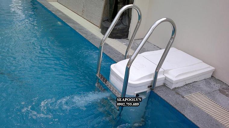Vận hành máy lọc hồ bơi