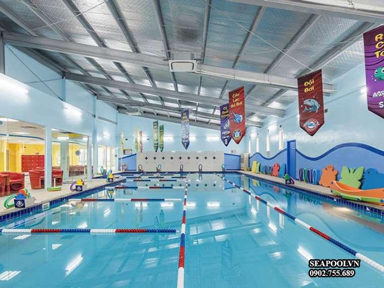 Bể Bơi Trường Thcs Nguyễn Hữu Thọ