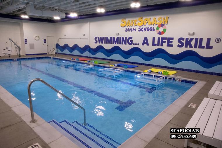 Kích Thước Bể Bơi Trường Học đạt Chuẩn