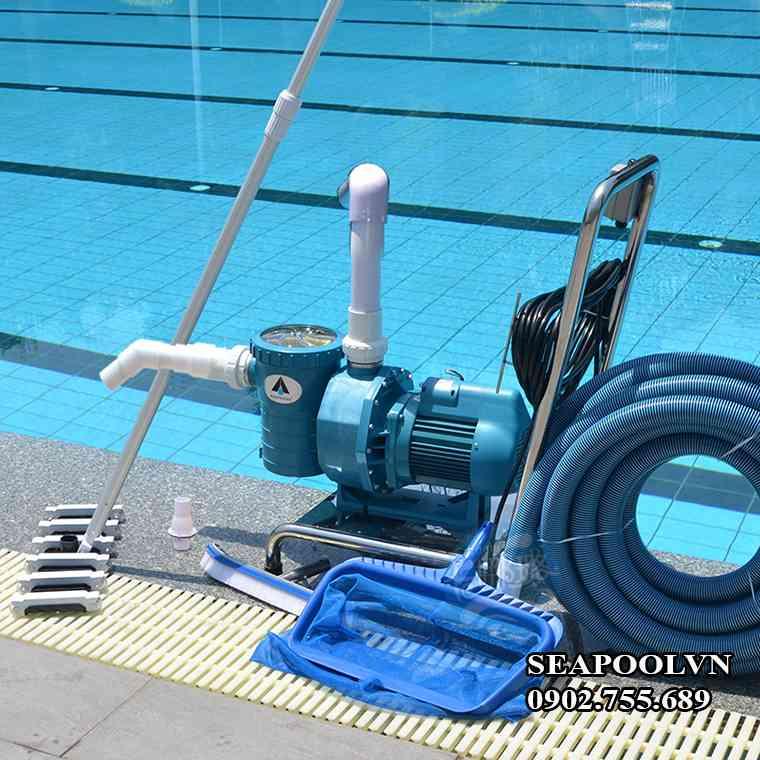 Xe Vệ Sinh Hồ Bơi Di động