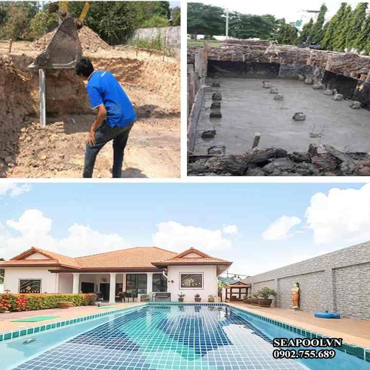 Chuyên Gia Seapoolvn Hướng Dẫn Cach Xây Dựng Bể Bơi Tại Nhà;