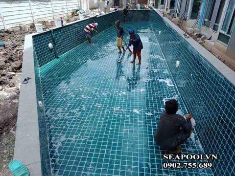 Thi Công Bể Bơi Tại đà Nẵng