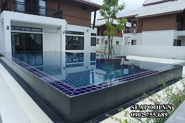 Thiết Kế Xây Dựng Bể Bơi Tràn Viền đẹp Tại Đà Nẵng