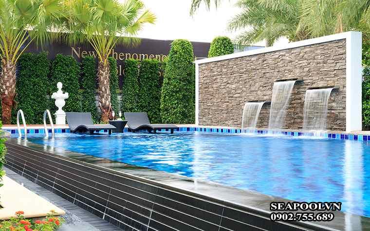 Xây Bể Bơi Gia đình Hợp Phong Thủy