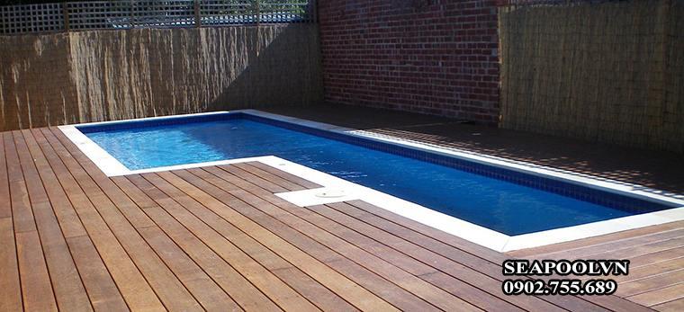 Thiết Kế Thi Công Trọn Gói Ván Sàn Gỗ Bể Bơi Tại Cần Thơ