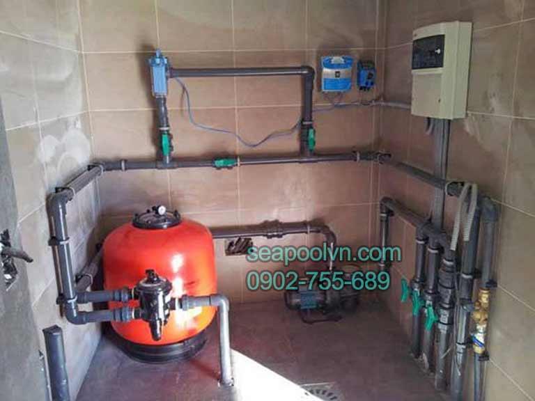 Sự cần thiết của hệ thống thiết bị máy lọc nước hồ bơi