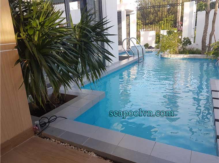 Nâng cấp cải tạo hồ bơi Vũng Tàu